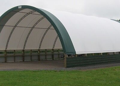 32x36 Or Any Size. Hoop Fabric Storage Hay Equipment Cattle Building