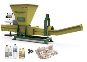 GREENMAX Poseidon series plastic recycling machine
