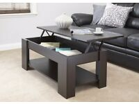Lift up coffee table brand new