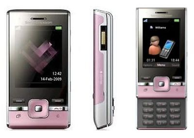 UNLOCKED USED PINK SONY ERICSSON T715a SLIDER GSM CELL PHONE FIDO ROGERS CHATR Pink Unlocked Cell Phones