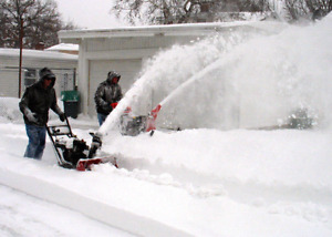 Hamilton residential snow removal services