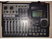 Fostex VF08 Digital Multitracker Mixer Recorder with Effects Processing