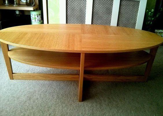 oval coffee table ikea | idi design
