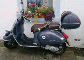 Vespa GTV 250ie 2008 full MOT