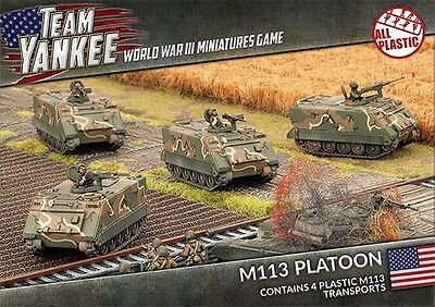Team Yankee: M113 Platoon TUBX03 FREE SHIPPING