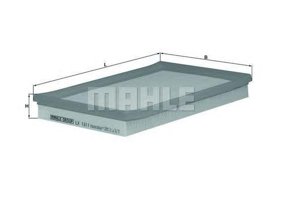MAHLE / KNECHT Luftfilter LX 1811 ( LX1811 )