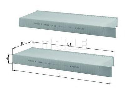 3 Heizung Pack (MAHLE KNECHT INNENRAUMFILTER CITROEN BERLINGO C4 DS5 PEUGEOT 3008)