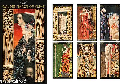 Tarot Cards - Golden Tarot of Klimt 78 Cards + Instruction TC15