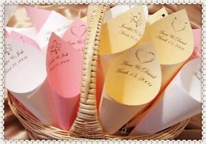 30 coni portariso porta riso personalizzati con nome - Porta riso matrimonio ...