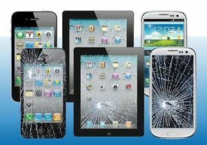 iPhone/iPad Screen Replacement $30, Store Warranty,20 Minutes
