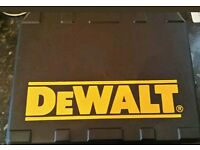 DeWalt empty carry case new for model number dcd776 C2