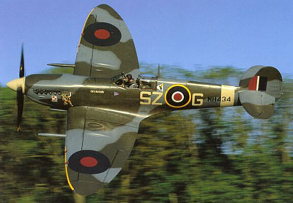 Giant  Scale Scale Supermarine Spitfire  Mk.9 Plans and Templates 83ws