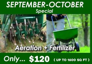 Weed Removal..Lawn Care..Aeration..Fertilizers.. Yard Cleaning