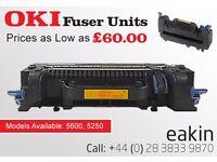 OKI Printer Fuser Units Great Condition; Like New