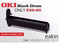 OKI 3400 Black Drum *Like New*