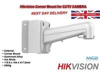 Hikvision DS-1602ZJ CORNER MOUNT CCTV CAMERA - CORNER BRACKET