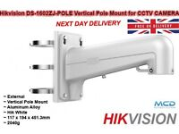 Hikvision DS-1602ZJ-Vertical Pole Mount CCTV CAMERA - Vertical Pole BRACKET