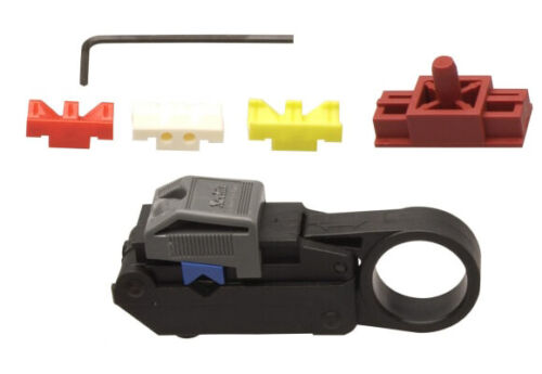 """Xcelite 2CSK-B Coaxial Wire Stripper Full Kit, Covers strip length of 1/4""""-9/32"""""""