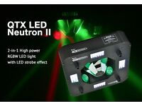 QTX NEUTRON 2 LED DJ LIGHT / LED DISCO LIGHT.