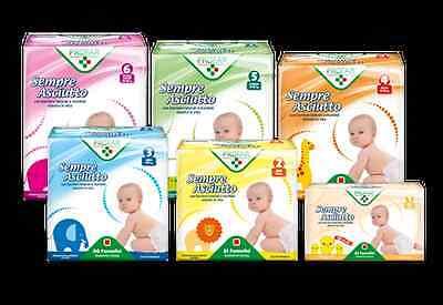 Pannolini per bambini Profar SempreAsciutto tutte le grandezze - Farmacia Succi
