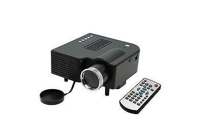 "UC28 PRO HDMI Mini HD Home LED Projector 60"" Cinema Theater, PC Laptop VGA I"