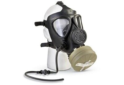 M-15 Gas Mask With Nbc Nato Filter And Drinking Straw
