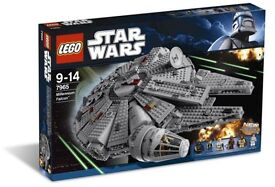 Lego Star Wars Millennium Falcon set - 7965 New Sealed Retired Rare