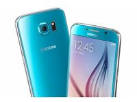 Samsung galaxy s6 in blue topaz