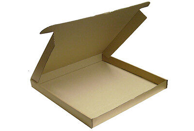 25 x Die Cut Postal Box Large Letter Packaging 297mm x 210mm x 22mm