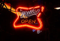 MANCAVE ,BAR ,NEON BEER SIGNS ,BUD  , MILLER, CORONA , ECT