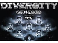 Meet diversity genesis tour April 15th 2017 front row sold out 2x tickets