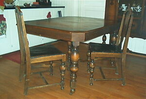 Antique dining room suite (large)