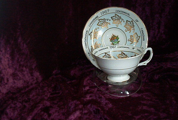 Royal Grafton Fine Bone China, Cup and Saucer 1967 Centennial