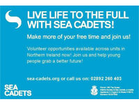 Volunteer with Ballymena Sea Cadets