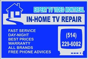 TV repair and home service in Montreal West Island Greater Montréal image 2