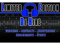 LTD EDITION DJ HIRE / VENUE DRESSING LIVERPOOL