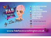 Face Painter Fab Faces Washington