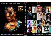 Adobe CS6 Master Collection Full Version Genuine For PC/Mac