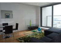 28th floor one bedroom, Pan Peninsula, E14, 24hr concierge, cinema, pool, gym, cocktail bar, balcony