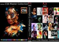 Genuine Sealed Adobe CS6 Master Collection + Serial Number For PC/macOS
