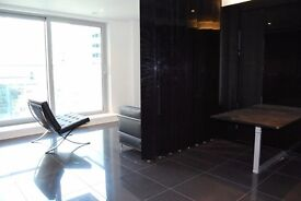 A luxury studio suite set on the 16th floor of this sophisticated residential building - KJ