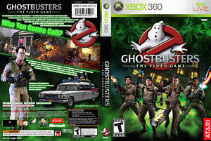 WANTED Ghostbusters the video game 4 XBOX 360
