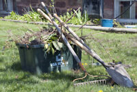 WANTED LABOURER 4 HOUSE RENO YARD CLEANUP - AURORA