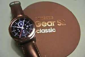 Samsung Gear s2 classic watch with heart rate monitor