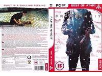 fahrenheit indigo prophecy original pc game for £4