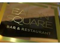 Sous Chef position available - Eaton Square Bar & Restaurant