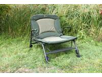 Nash Indulgence Sub Low Wideboy Chair T9708 Carp Fishing Tackle Sub Lo Wide Boy