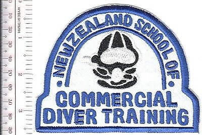 SCUBA Hard Hat Diving New Zealand School of Commercial Diver Training white