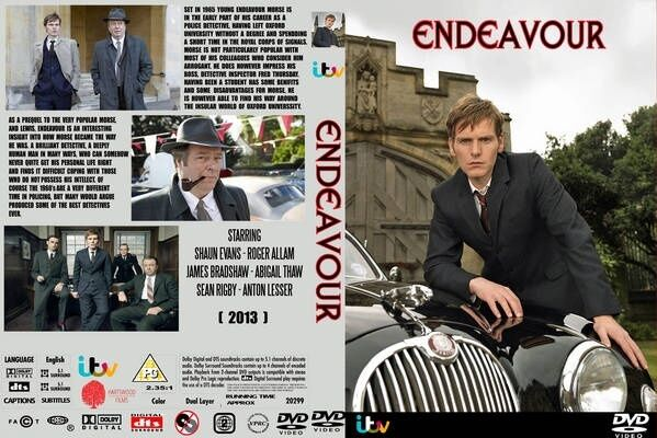 Endeavour: Series 1-3 [Region 2] - DVD - New - Free Shipping.