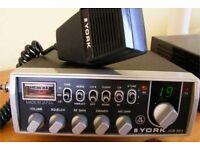 CB RADIO YORK JCB 863